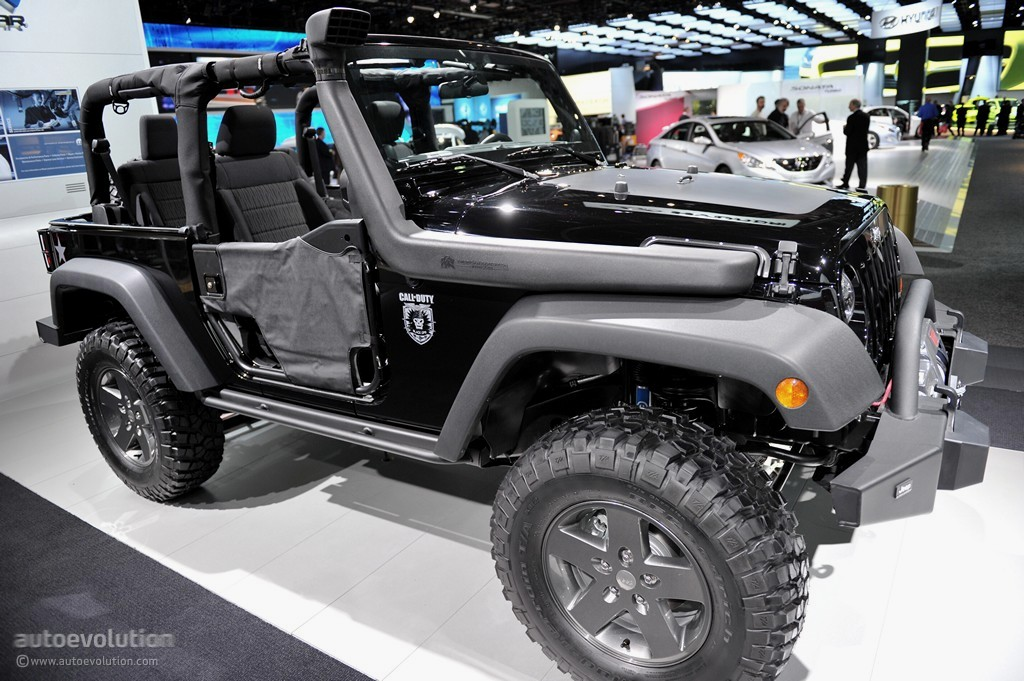 ... Jeep Wrangler Call Of Duty: Black Ops Edition ...
