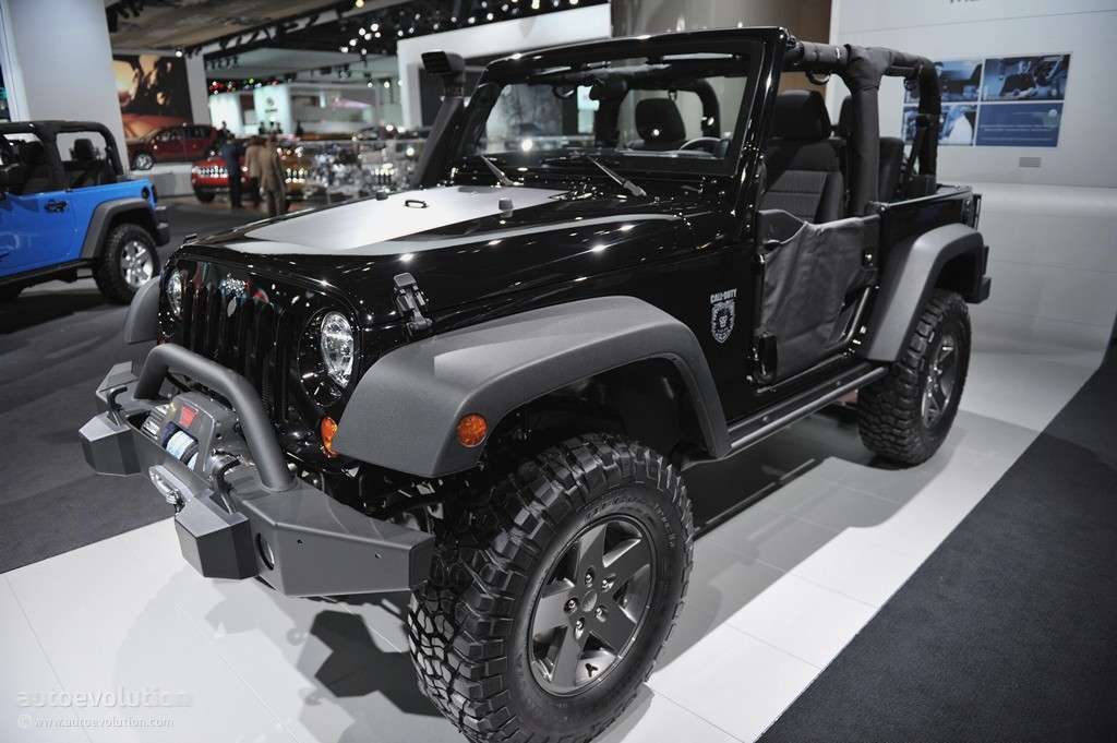 Awesome ... Jeep Wrangler Call Of Duty: Black Ops Edition ...