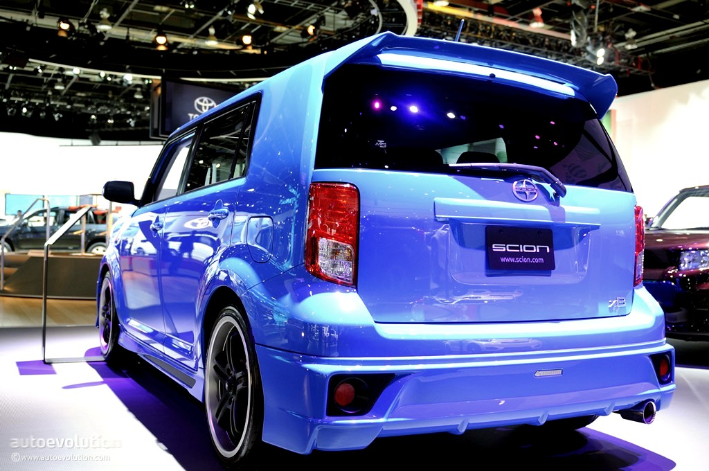 2011 naias scion xb release series 8 0 live photos. Black Bedroom Furniture Sets. Home Design Ideas
