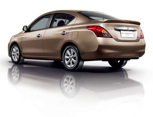 2011 Nissan Almera Eco Car Launched In Thailand