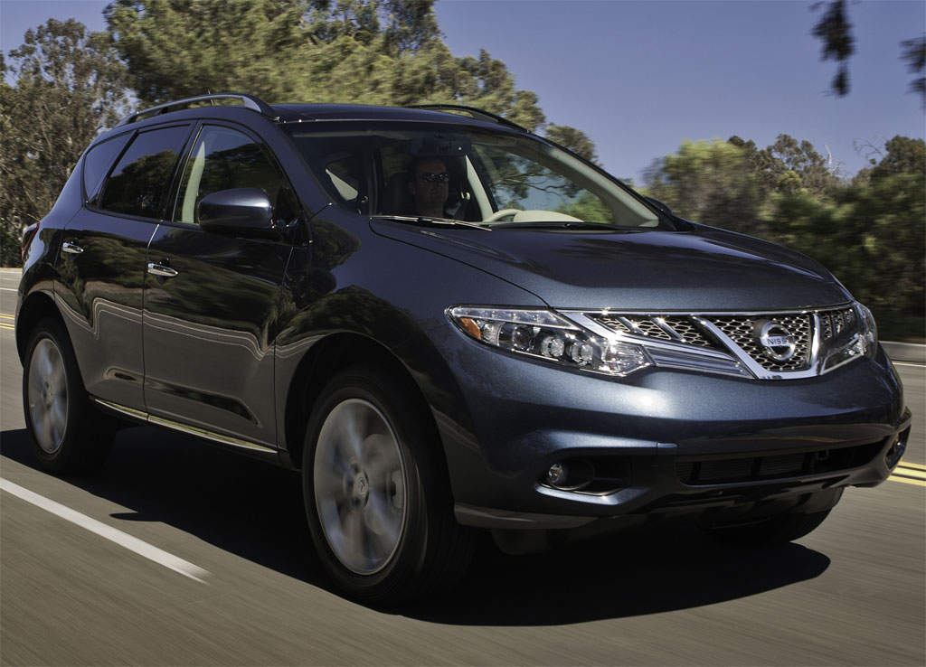 2011 nissan murano launches in october autoevolution. Black Bedroom Furniture Sets. Home Design Ideas