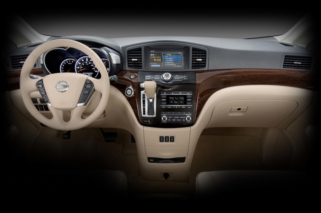 2011 nissan quest official images released - autoevolution