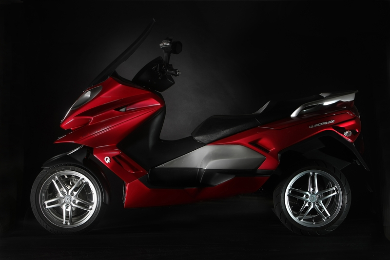 2011 quadro 3d 4d scooters revealed autoevolution. Black Bedroom Furniture Sets. Home Design Ideas