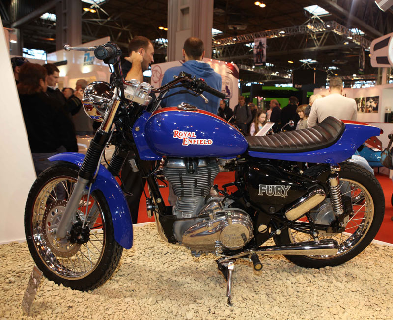 2011 Royal Enfield Fury Introduced Autoevolution