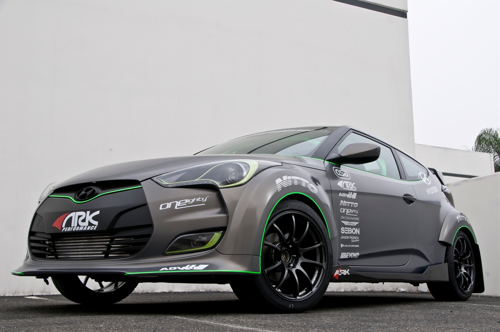 2011 SEMA ARK Performance Hyundai Veloster Unveiled