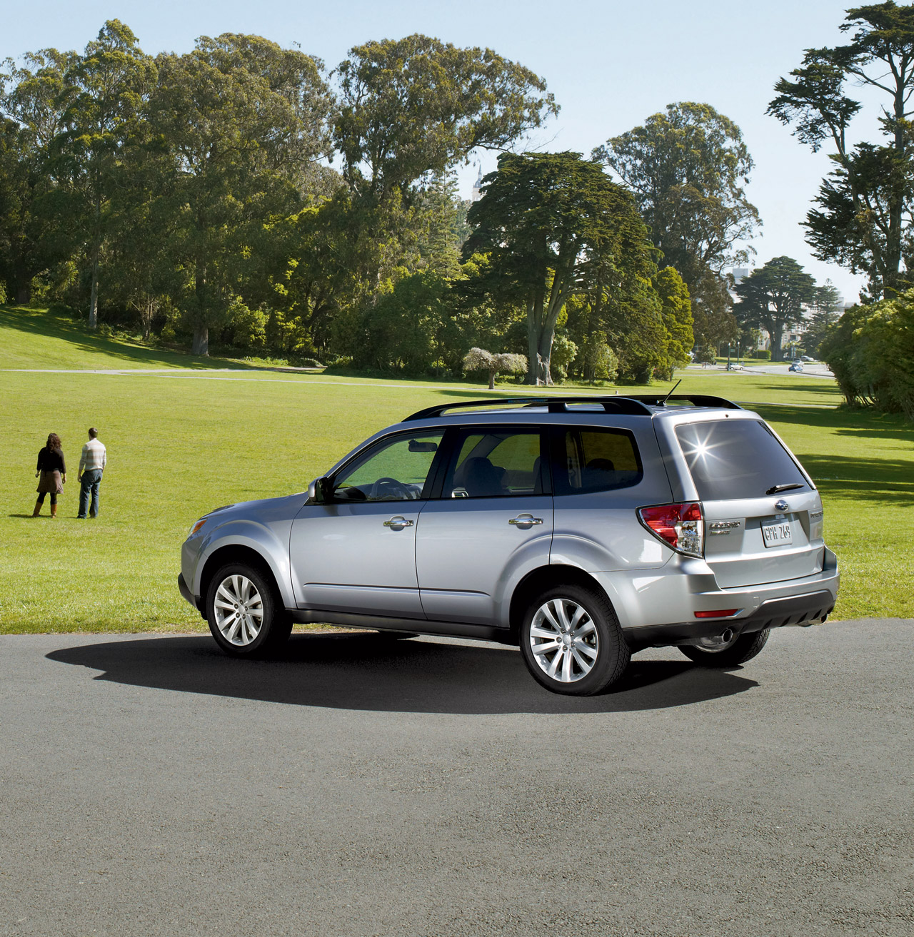 2011 Subaru Forester Images Released
