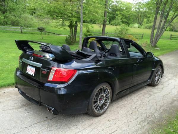 2011 subaru impreza wrx sti convertible for sale costs new sti money autoevolution. Black Bedroom Furniture Sets. Home Design Ideas