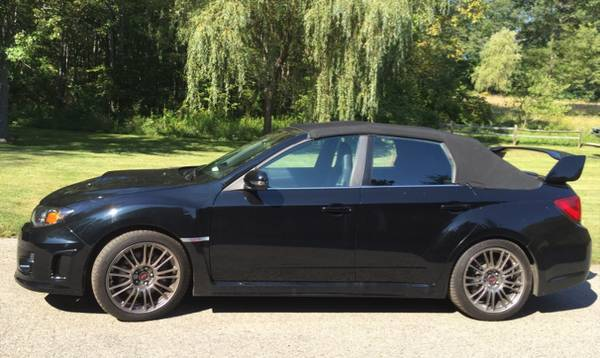2017 Subaru Impreza Wrx Sti Convertible