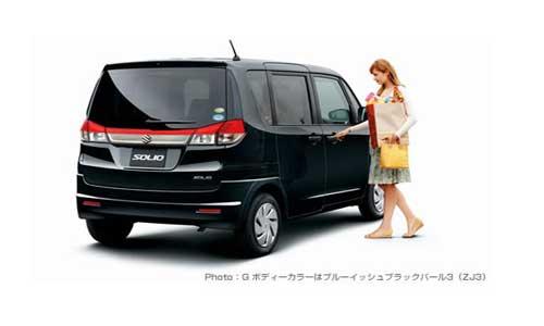 2011 Suzuki Solio Launched in Japan - autoevolution