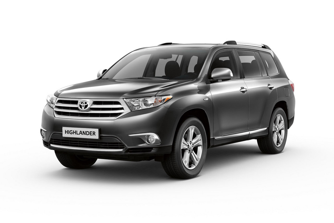 2011 Toyota Highlander Shows Up In Moscow Autoevolution