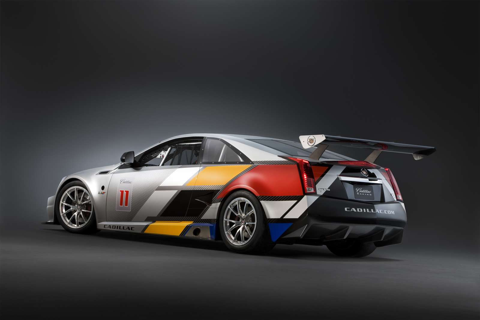 coupe cts racecar cadillac race released racing official ctsv cars autoevolution wallpapers