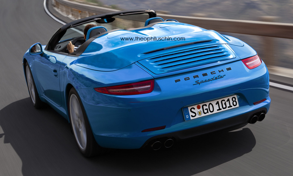 2012 991 Porsche 911 Speedster Rendering Autoevolution
