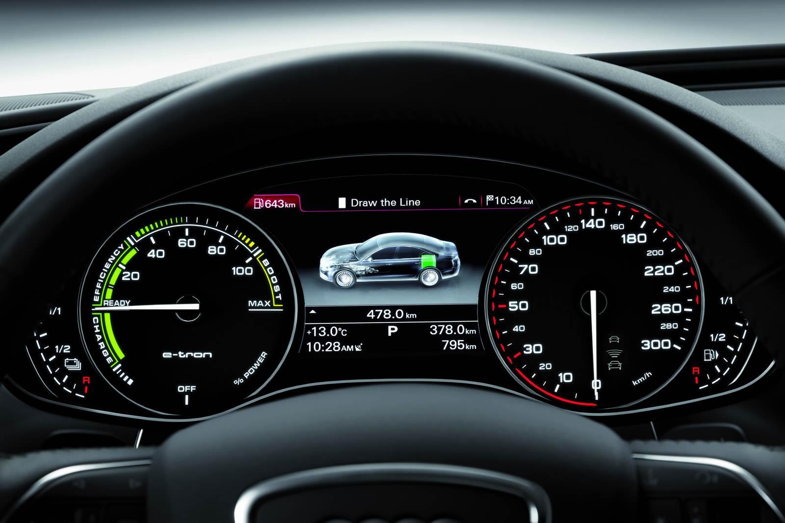 2012 Audi A6 L e-tron Concept Unveiled - Photo Gallery - autoevolution