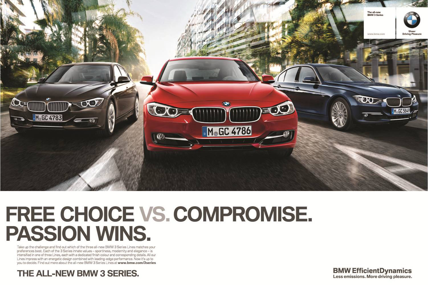 2012 Bmw 3 Series F30 Marketing Campaign Passion Wins Autoevolution