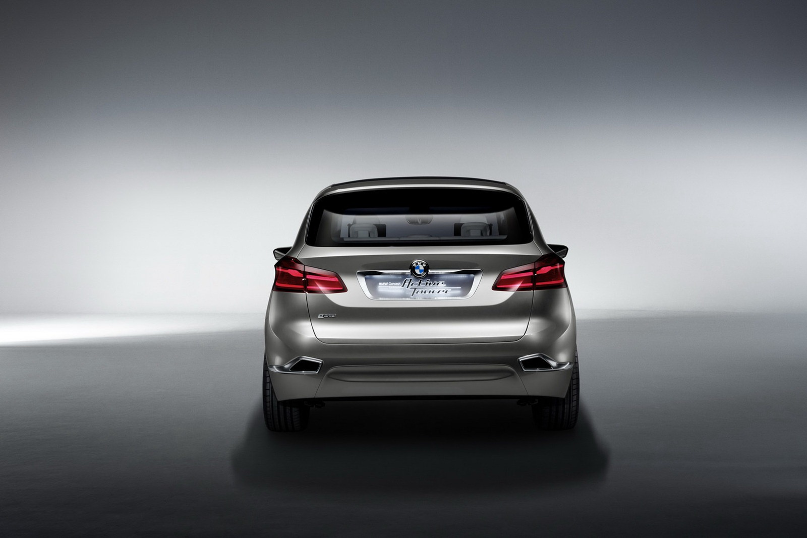 2012 BMW Active Tourer Concept Revealed: Previews 1er GT - autoevolution