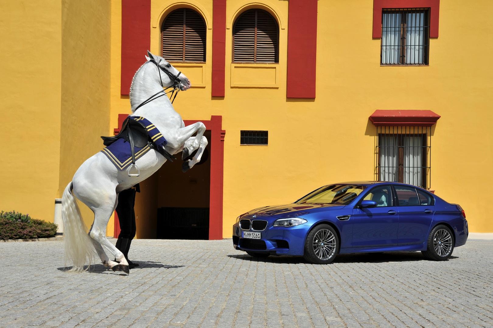 2012 Bmw M5 Gets One Extra Horsepower Autoevolution