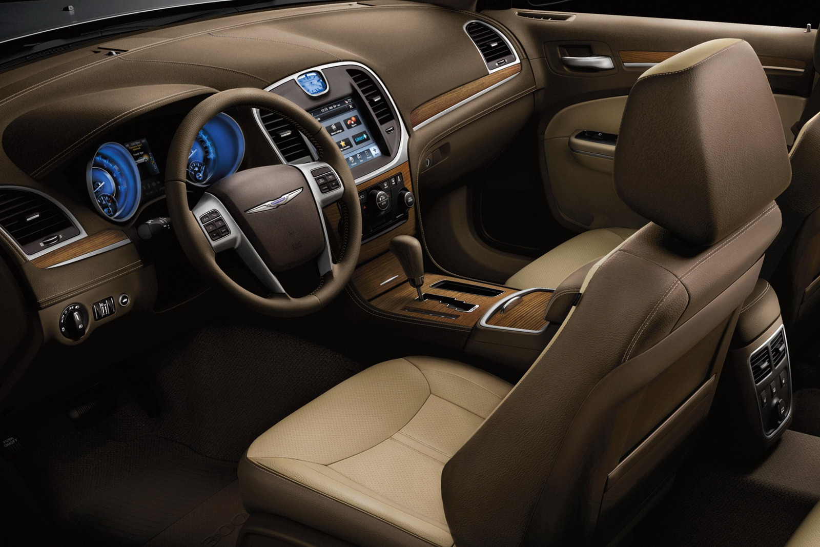 2012 Chrysler 300 Luxury Edition With V6 Unveiled