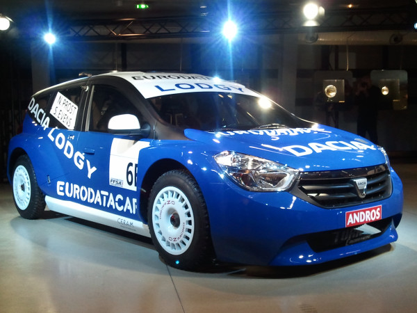 2012 dacia lodgy mpv revealed as glace ice racer