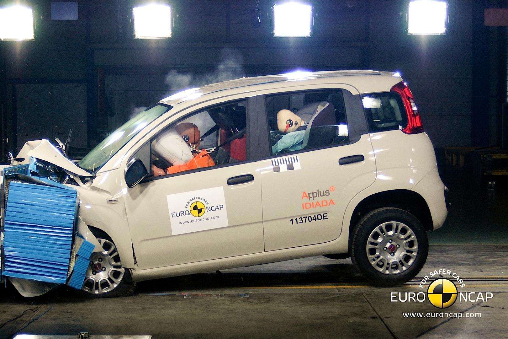 Fiat Panda Gets Four Star Euro Ncap Rating Video