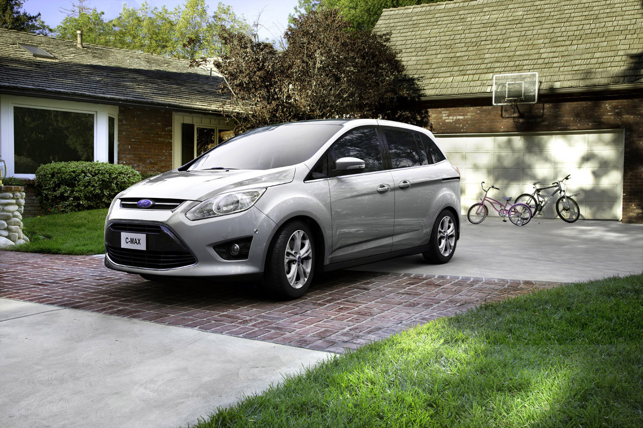 2012 ford c max will move us families autoevolution. Black Bedroom Furniture Sets. Home Design Ideas