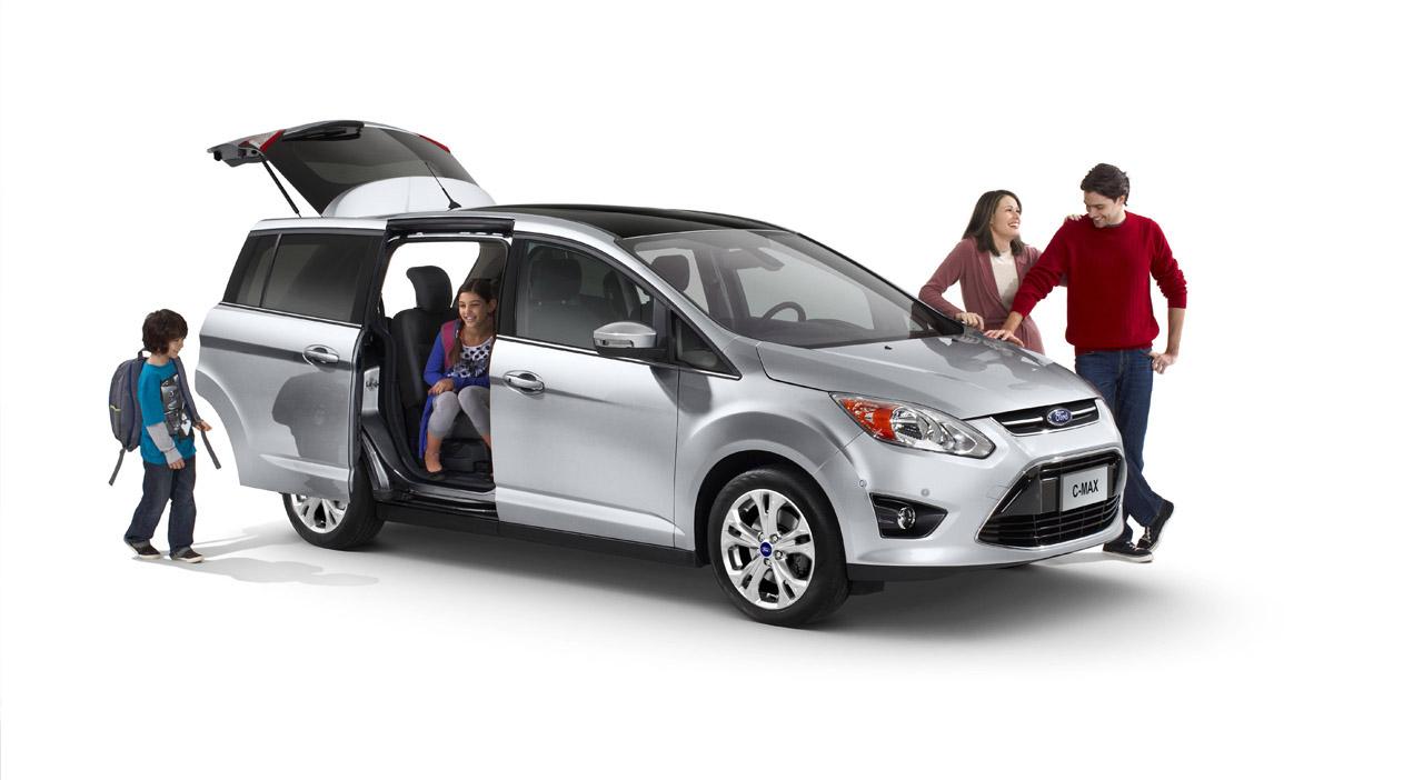 ... 2012 Ford C-Max ...  sc 1 st  Autoevolution & 2012 Ford C-Max Will Move US Families - autoevolution markmcfarlin.com