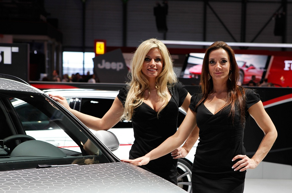 2012 Geneva Motor Show The Girls Autoevolution