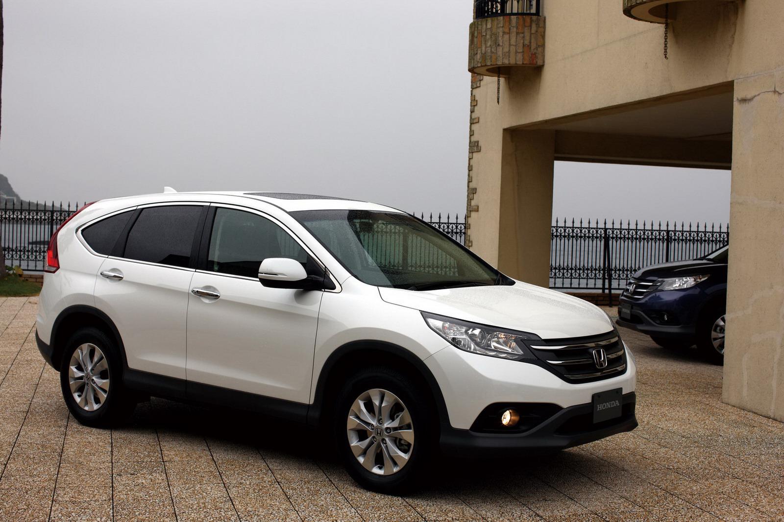 2012 Honda CRV Unveiled in Japan  autoevolution