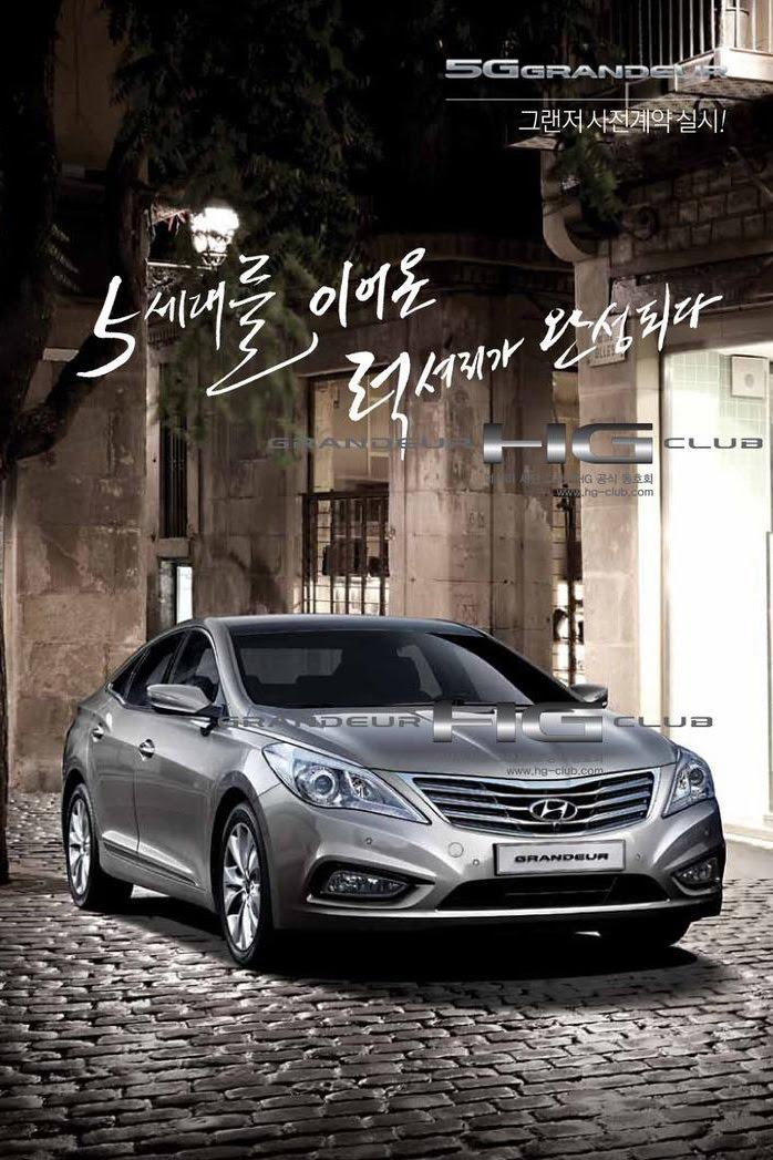 2012 Hyundai Azera New Photos And Technical Specs Released