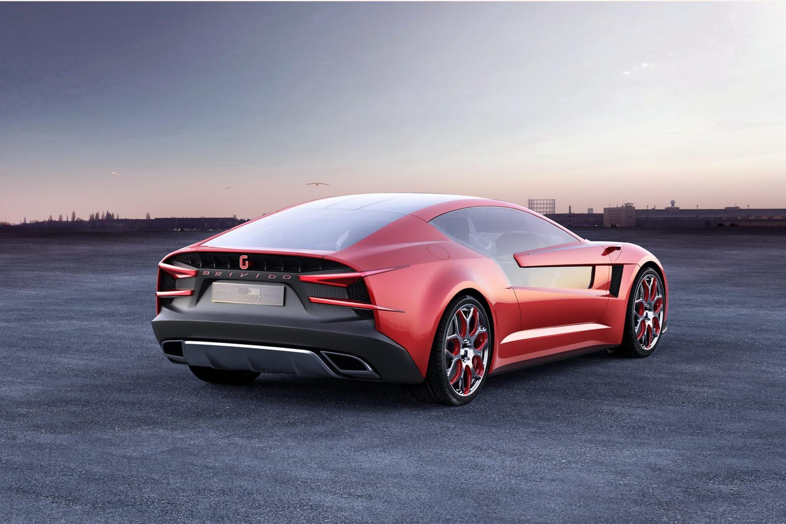 8 Seater Cars >> 2012 Italdesign Giugiaro Brivido Concept Revealed [Photo ...