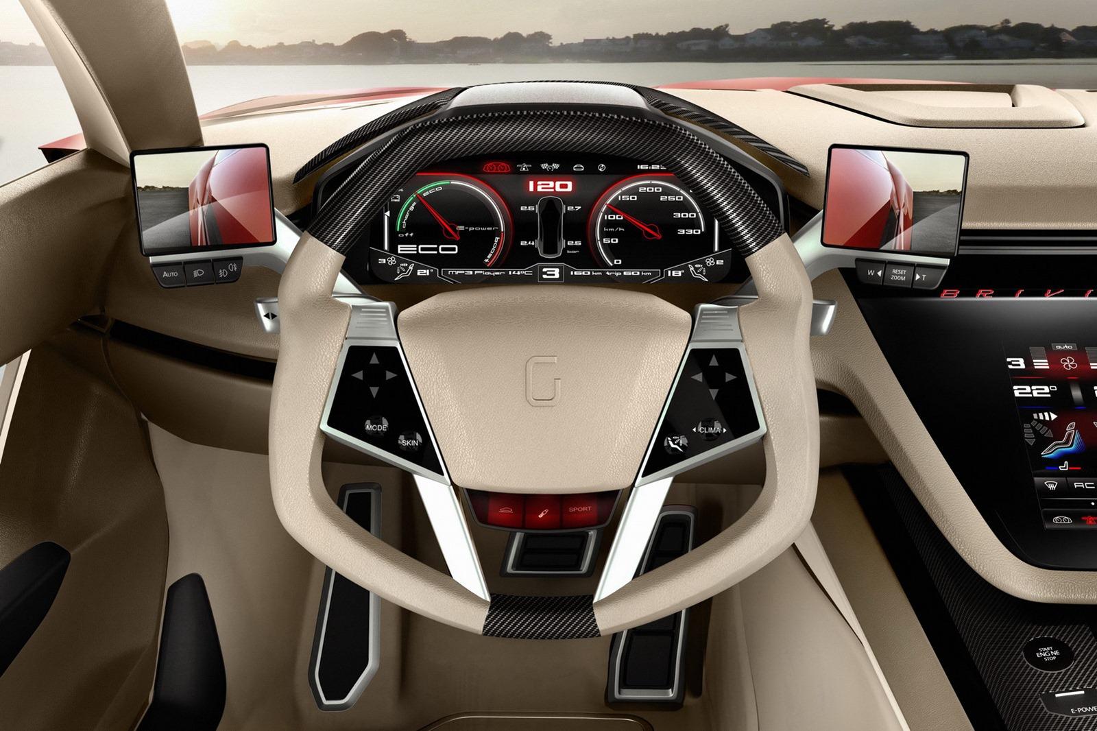 2012 italdesign giugiaro brivido concept revealed photo