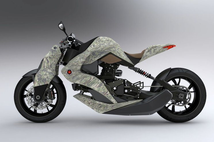 2012 Izh Hybrid Motorcycle Concept Presented - autoevolution