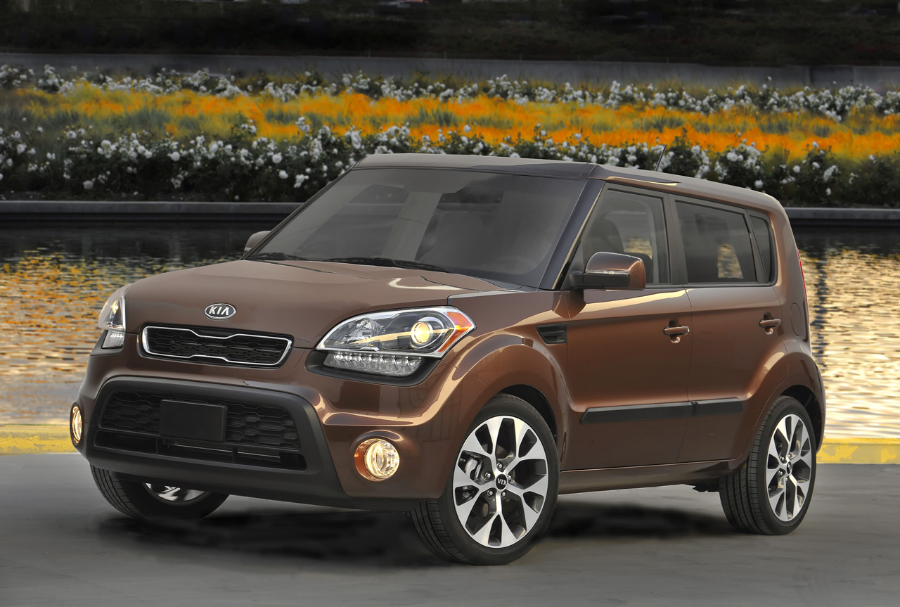 2012 kia soul facelift unveiled autoevolution. Black Bedroom Furniture Sets. Home Design Ideas