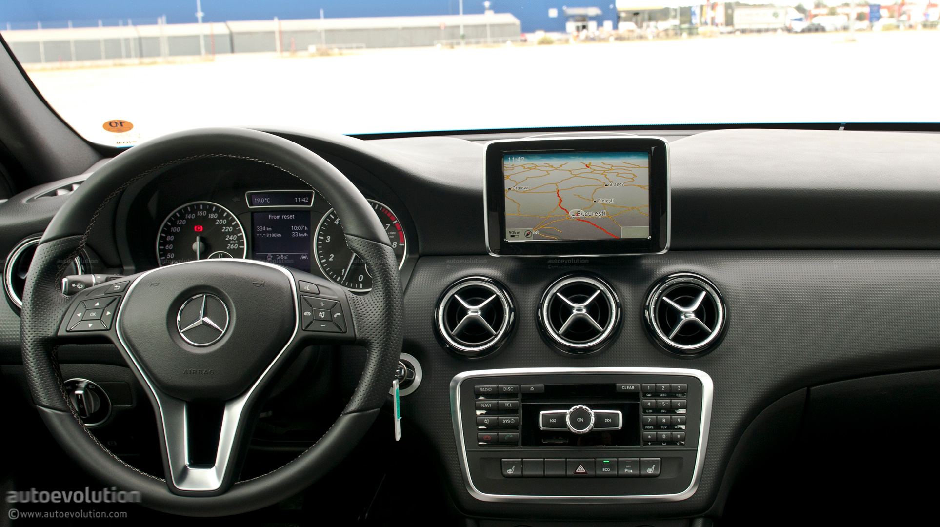 Mercedes Benz C Coupe >> 2012 Mercedes A-Class First Drive Review - page 2 - autoevolution