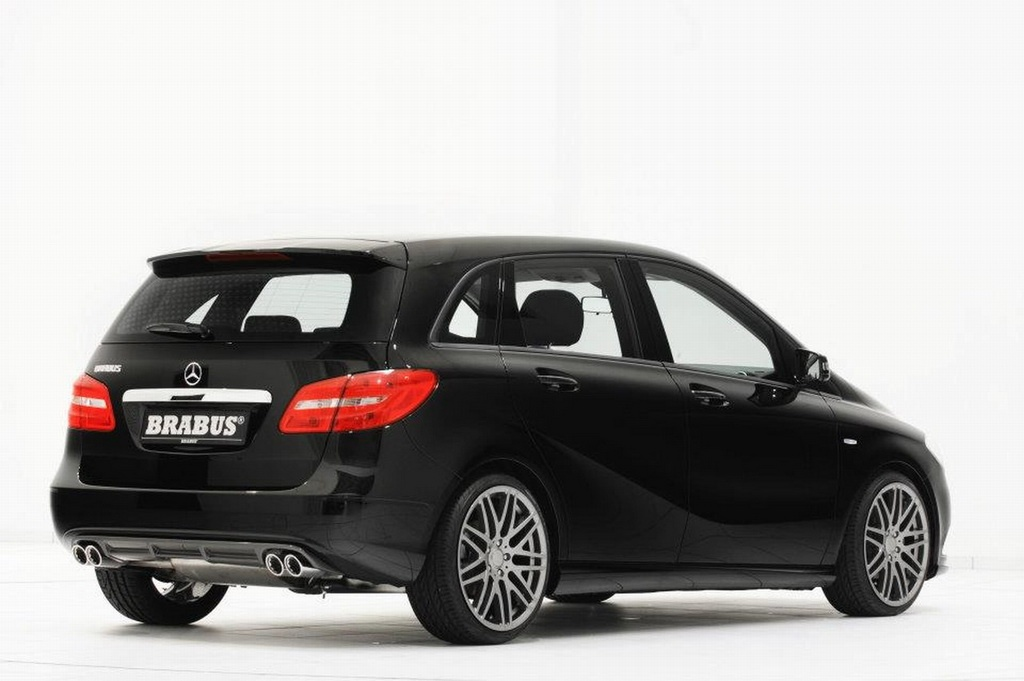 2012 Mercedes BClass Tuned by Brabus  autoevolution