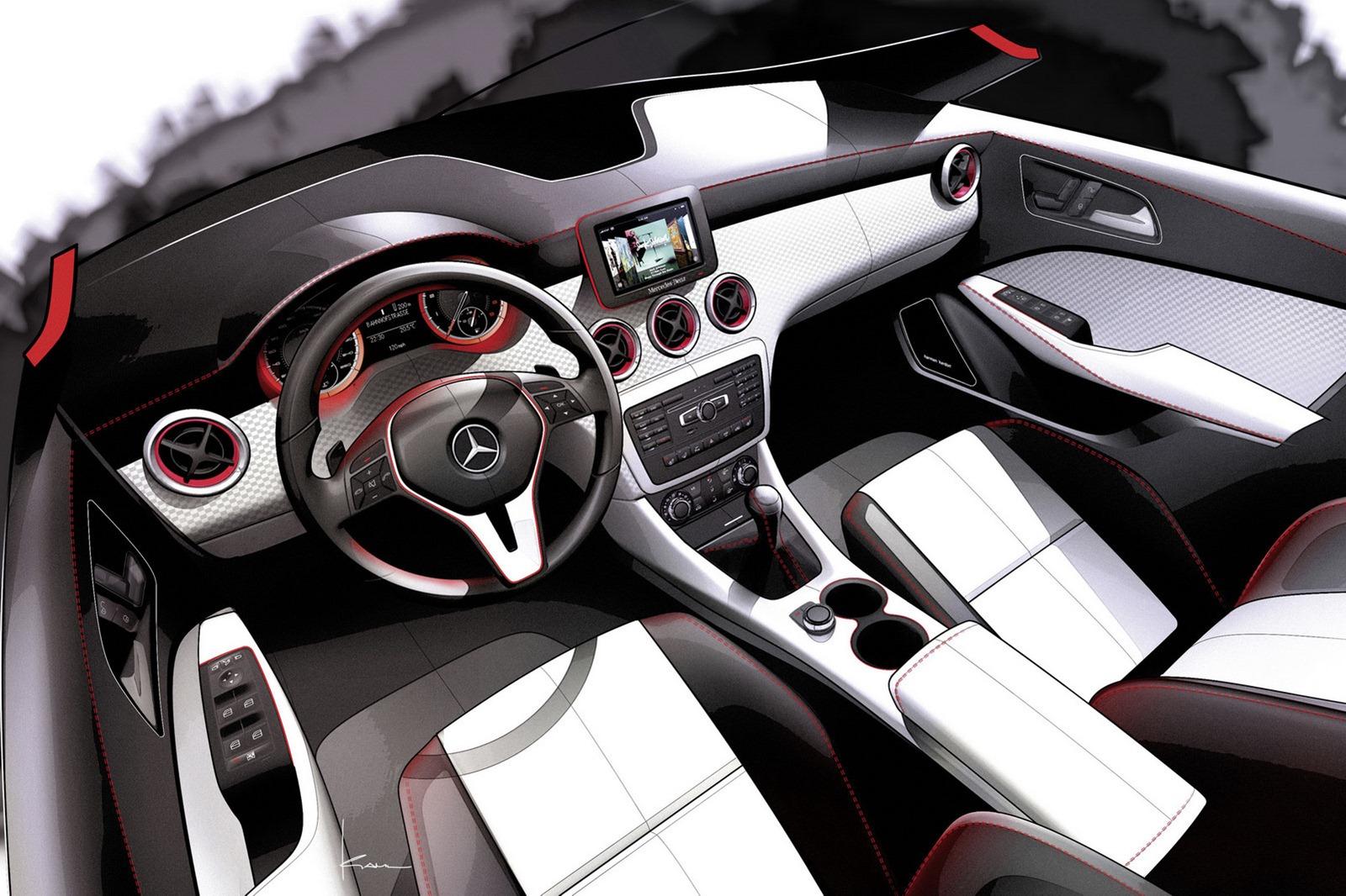 2012 Mercedes Benz A-Class New Photos Released - autoevolution