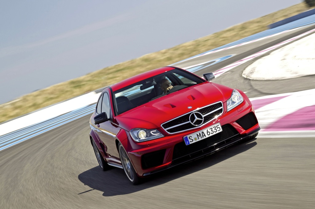 2012 mercedes c63 amg coupe black series breaks cover for Mercedes benz c63 amg coupe price