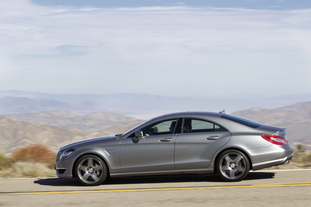 Mercedes Barn Find >> 2012 Mercedes CLS63 AMG Full Picture Galore Released - autoevolution