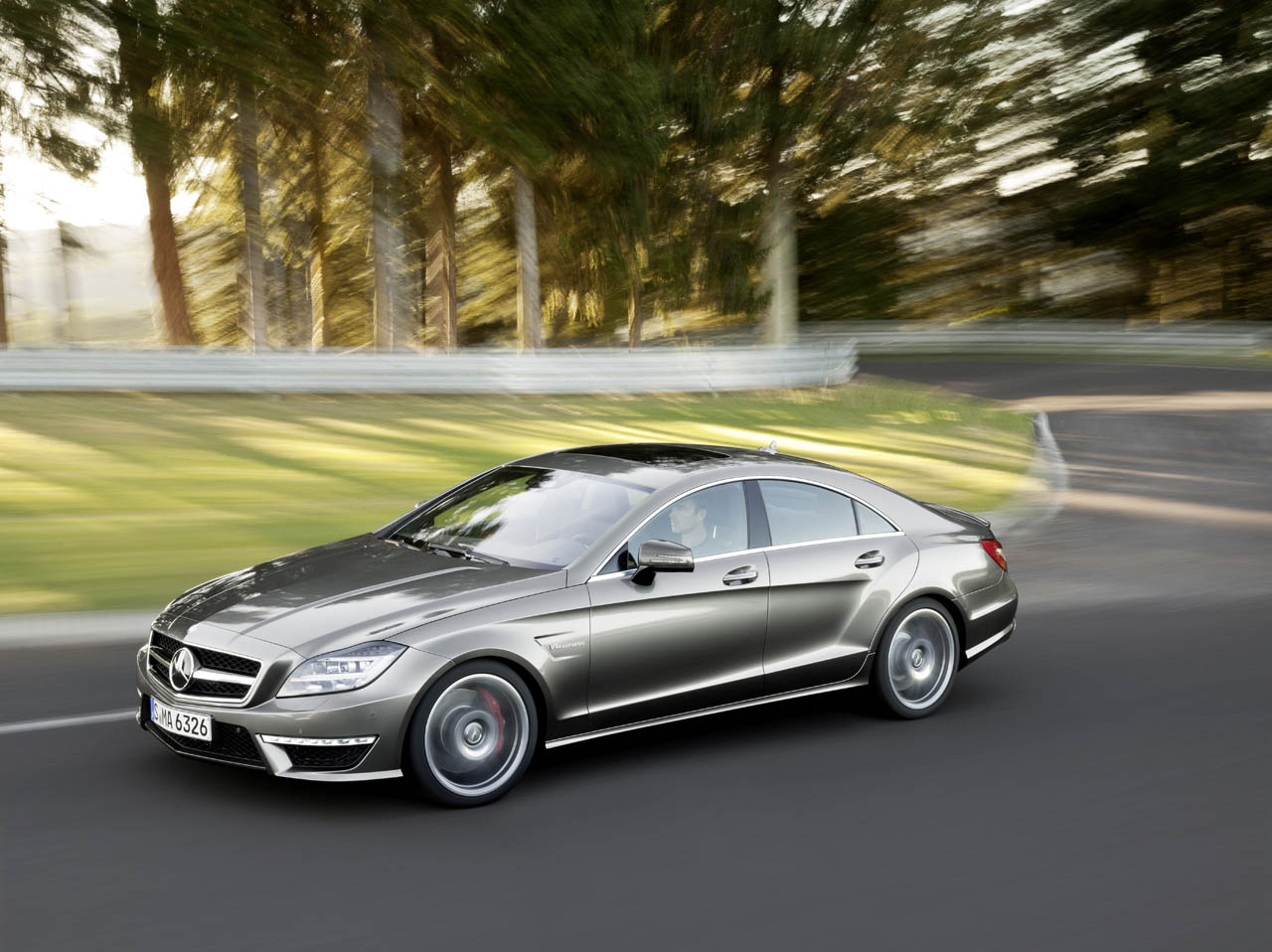 2012 Mercedes CLS63 AMG Presented Ahead of L.A. Debut ...