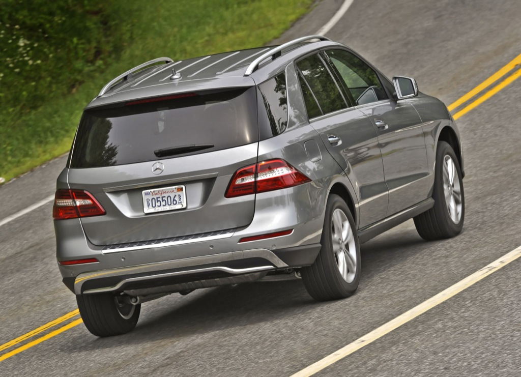2012 mercedes m klasse makes on road debut in the us for Mercedes benz ml 350 2012