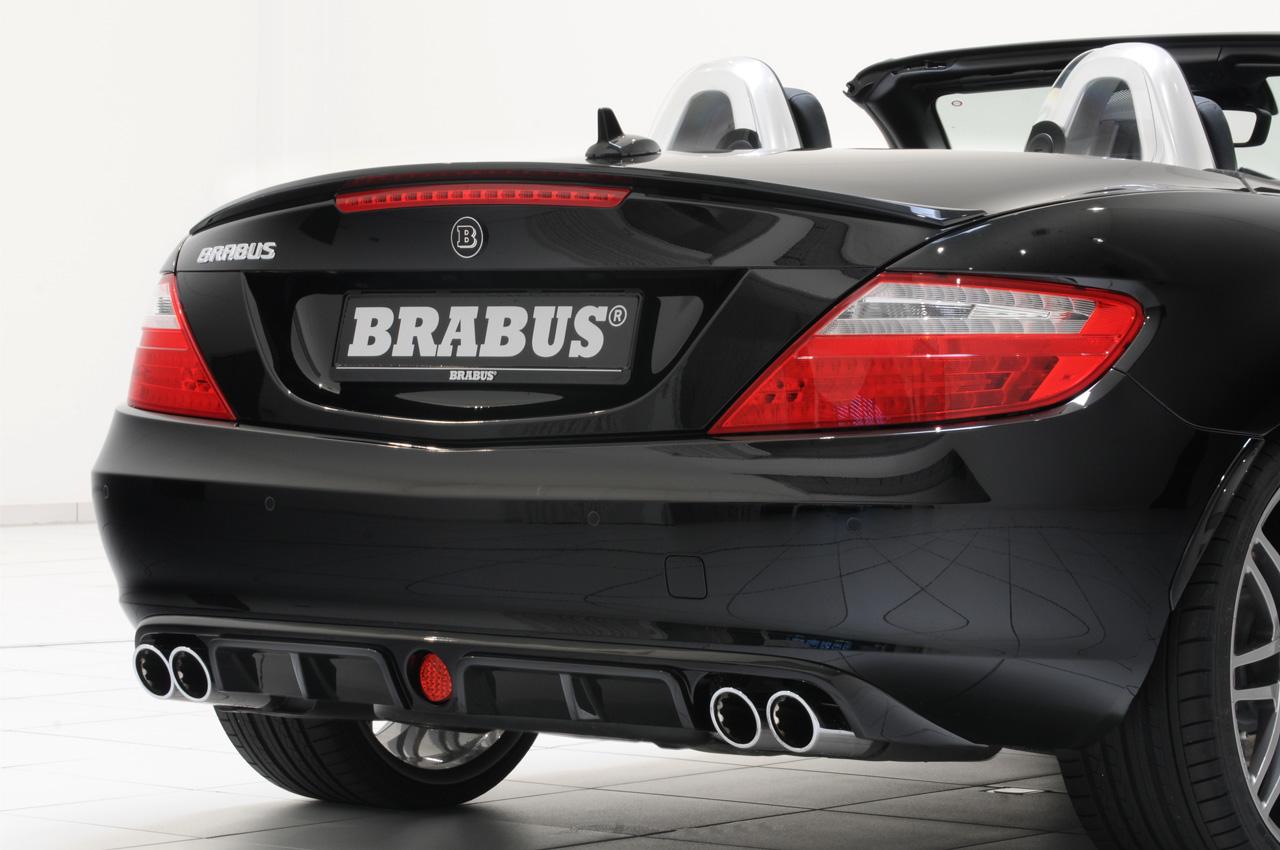 2012 Mercedes Slk Gets The Brabus Makeover Autoevolution