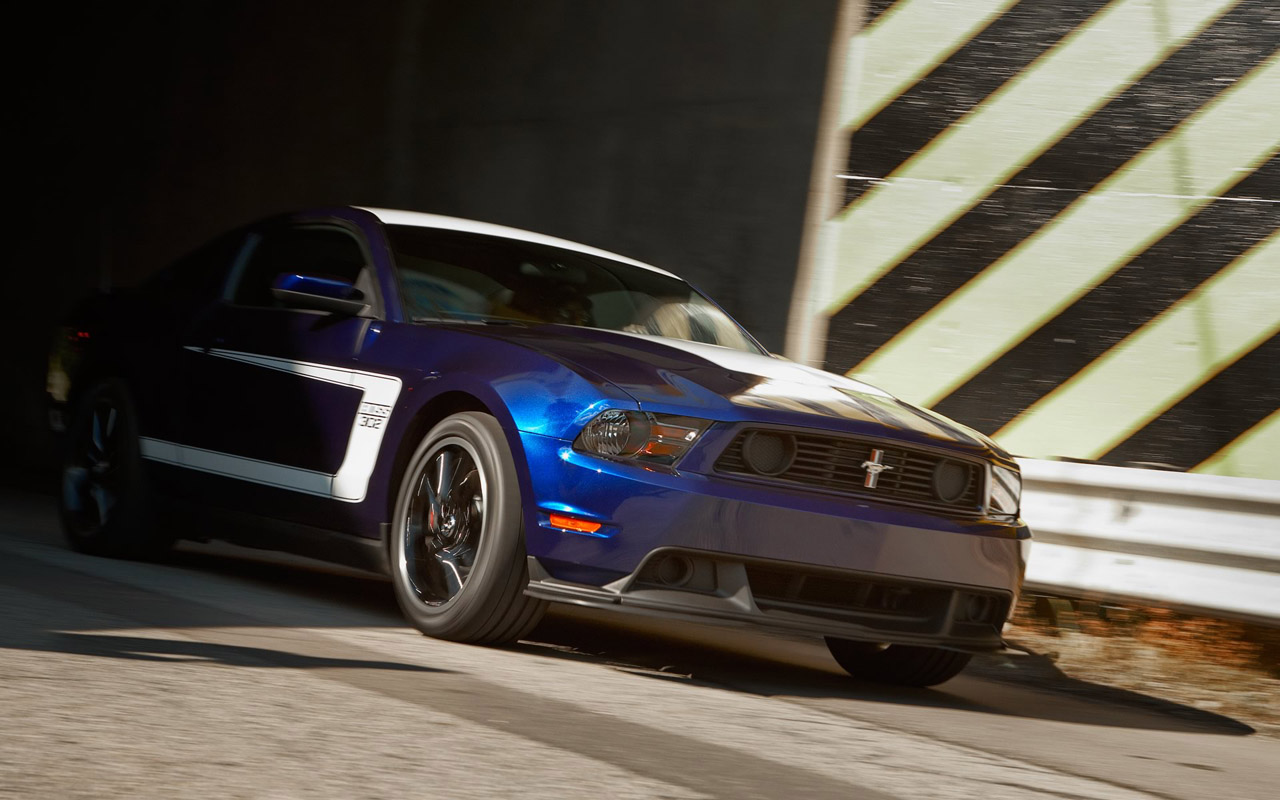 2012 Mustang Boss 302 Offered With Racing Trackey