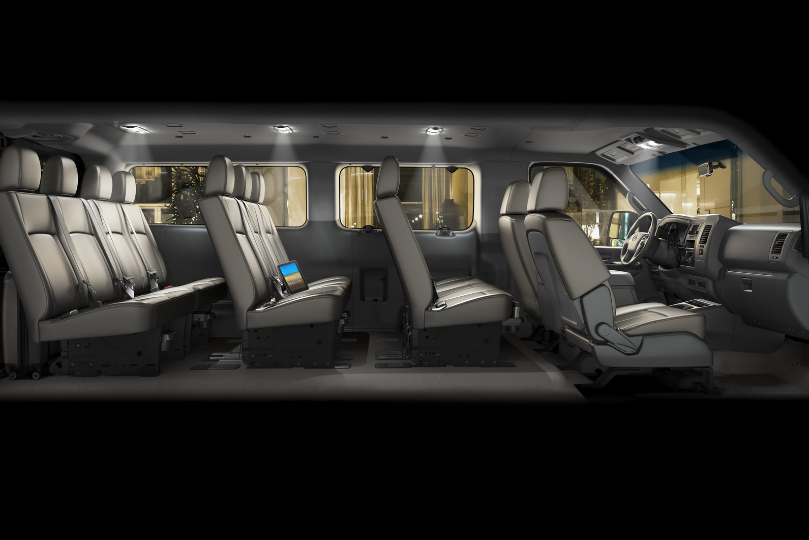 2012 Nissan NV3500 HD Passenger Van is Here - autoevolution