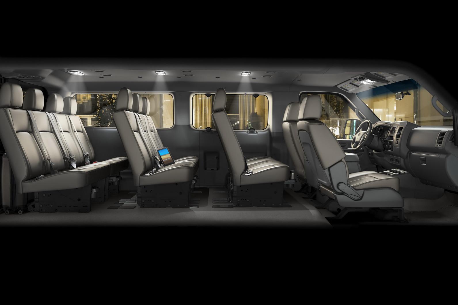 2012 Nissan Nv3500 Hd Passenger Van Is Here Autoevolution