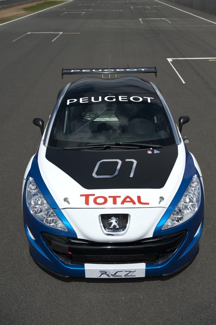 2012 Peugeot RCZ Race Car Unveiled [Video] - autoevolution