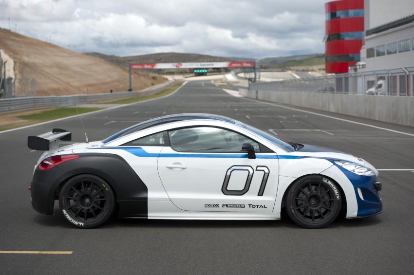 Buy Car Usa >> 2012 Peugeot RCZ Race Car Unveiled [Video] - autoevolution