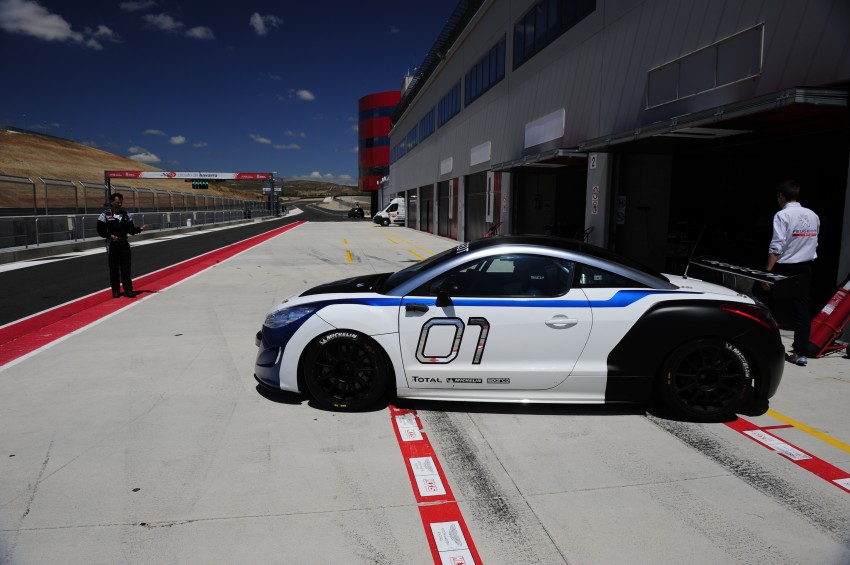 2012 Peugeot Rcz Race Car Unveiled Video Autoevolution