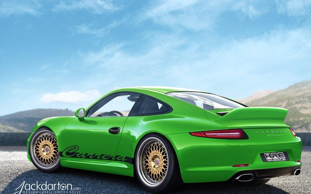 2012 Porsche 911 991 Gets Hre Wheels Autoevolution