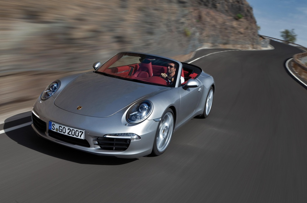 2012 porsche 911 cabriolet unveiled autoevolution. Black Bedroom Furniture Sets. Home Design Ideas