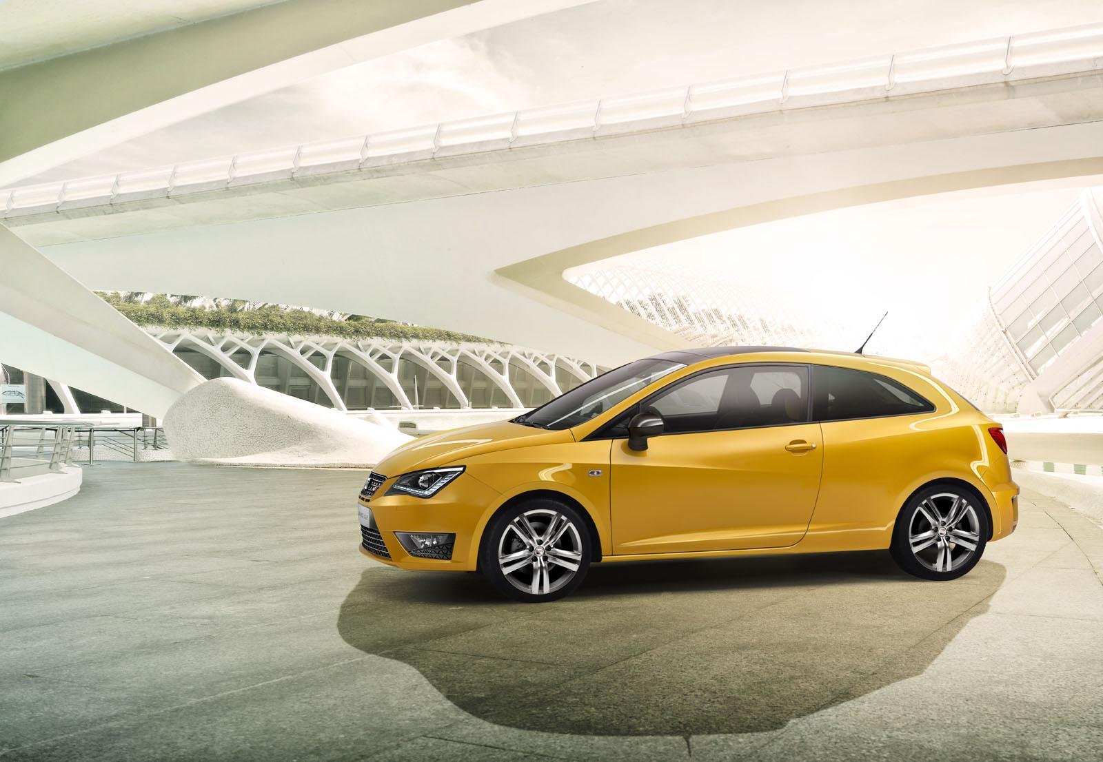 2012 seat ibiza cupra concept coming to worthersee autoevolution. Black Bedroom Furniture Sets. Home Design Ideas