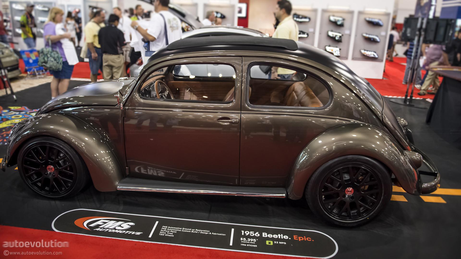 2012 SEMA: 1956 VW Beetle by FMS Automotive [Live Photos] - autoevolution